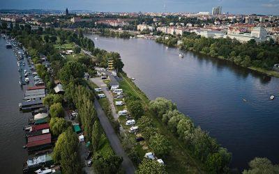 Praguecamp – nejlepší kemp v Praze přímo u vody