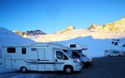 Svobodné cestování po celý rok aneb karavanem na zimní dovolenou